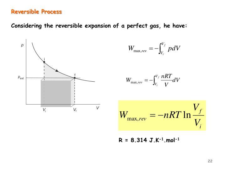 Reversible Process
