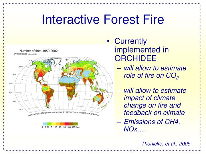 Interactive Forest Fire