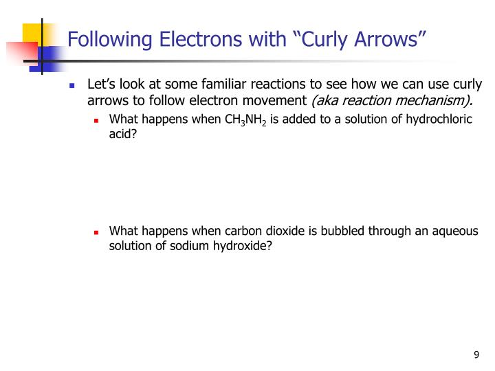 "Following Electrons with ""Curly Arrows"""