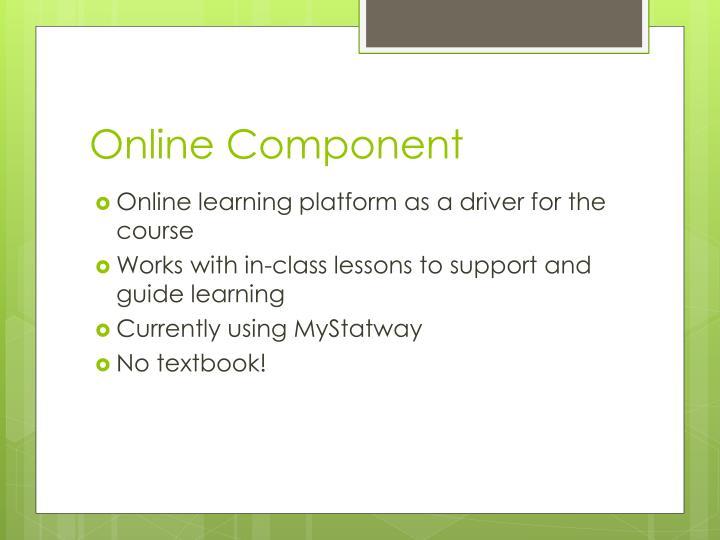 Online Component