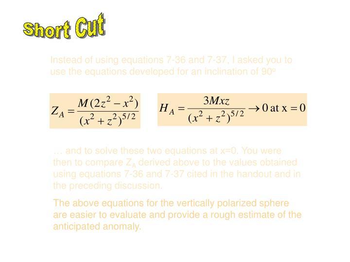 Short Cut