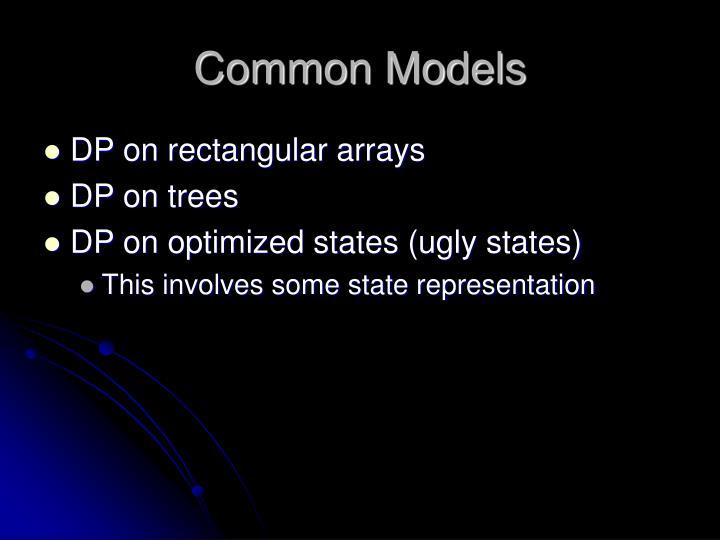 Common Models