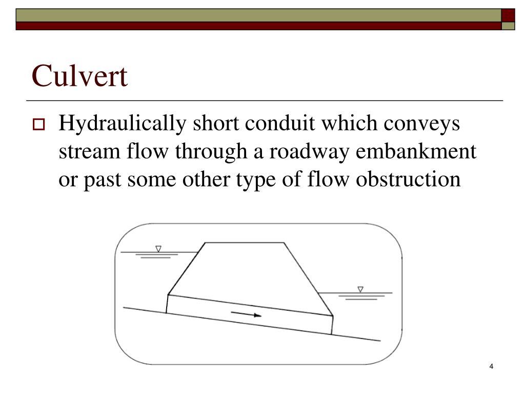 PPT - CTC 261 Culvert Basics PowerPoint Presentation - ID