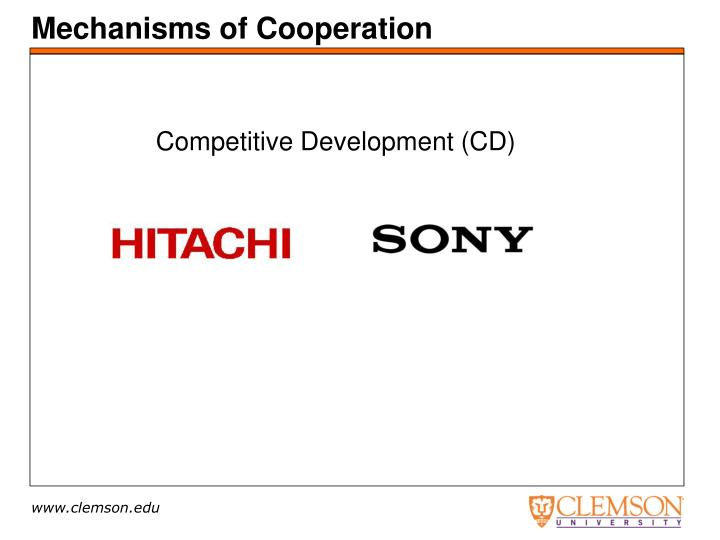 Mechanisms of Cooperation