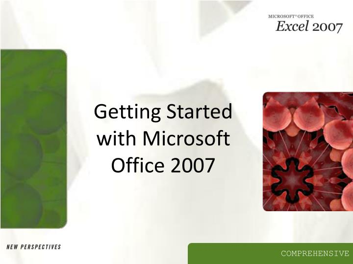 getting started with microsoft office 2007 n.