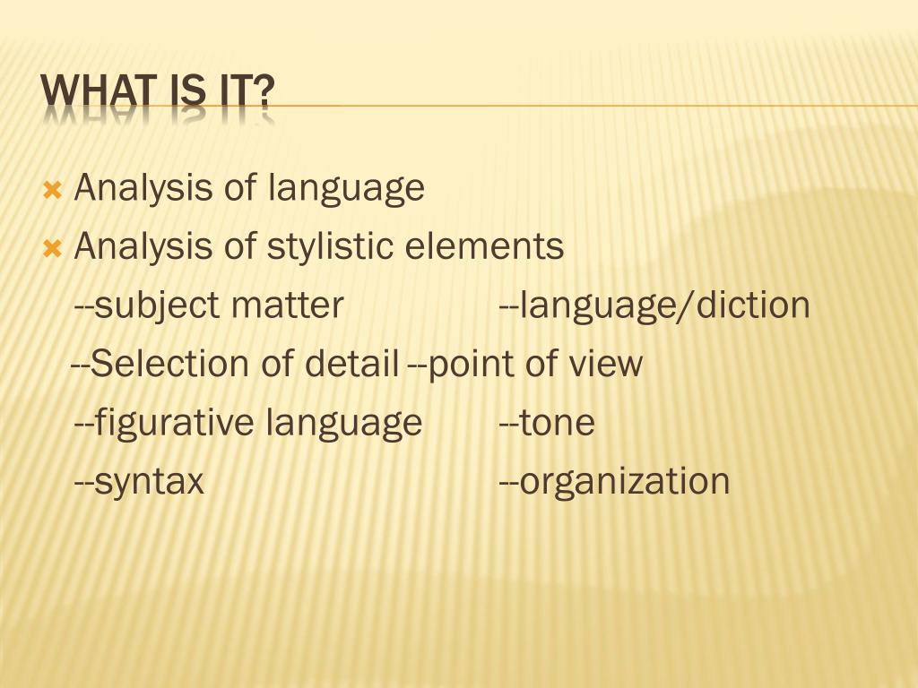 PPT - Passage Analysis Essay PowerPoint Presentation, free ...