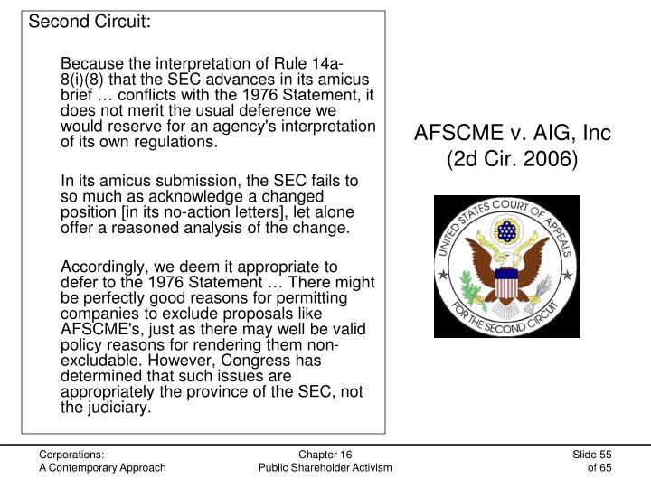 AFSCME v. AIG, Inc