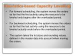 heuristics based capacity levelling1