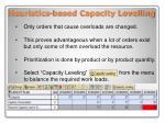 heuristics based capacity levelling2