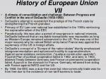 history of european union vii