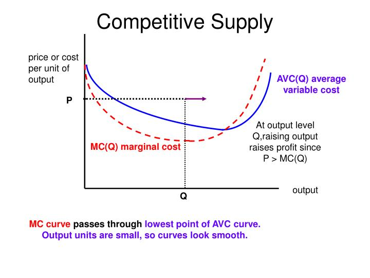 Competitive Supply
