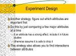 experiment design5