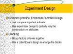 experiment design6