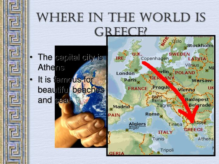 Where in the world is greece