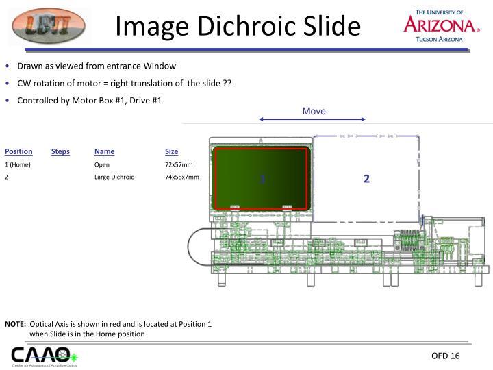 Image Dichroic Slide