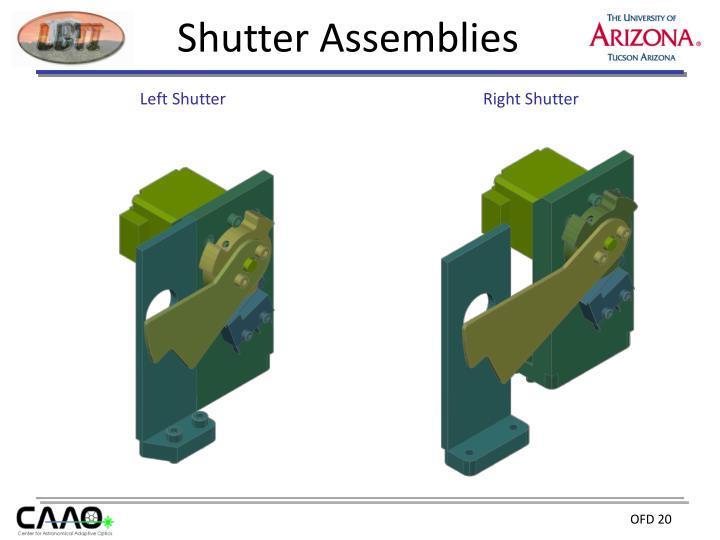 Shutter Assemblies