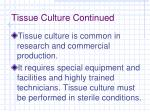 tissue culture continued1