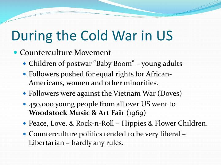During the Cold War in US