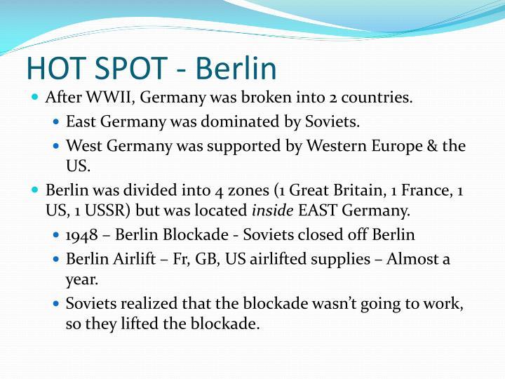 HOT SPOT - Berlin