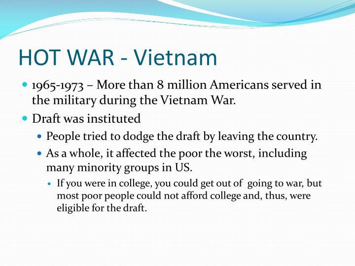 HOT WAR - Vietnam