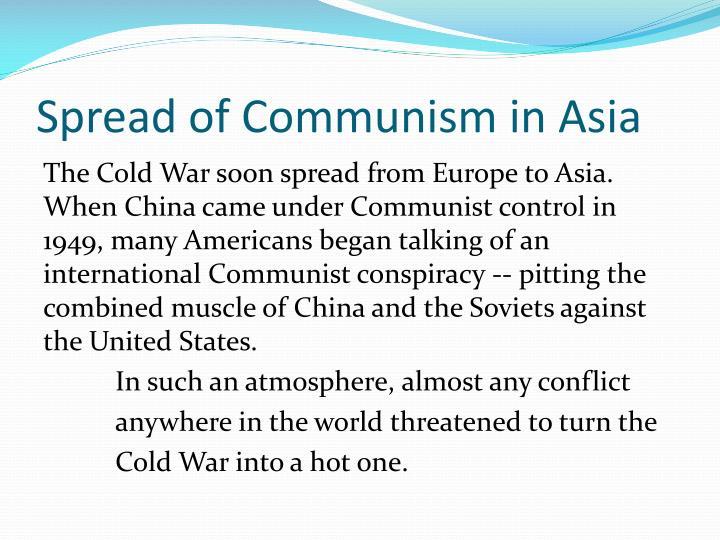 Spread of Communism in Asia