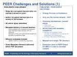 peer challenges and solutions 1