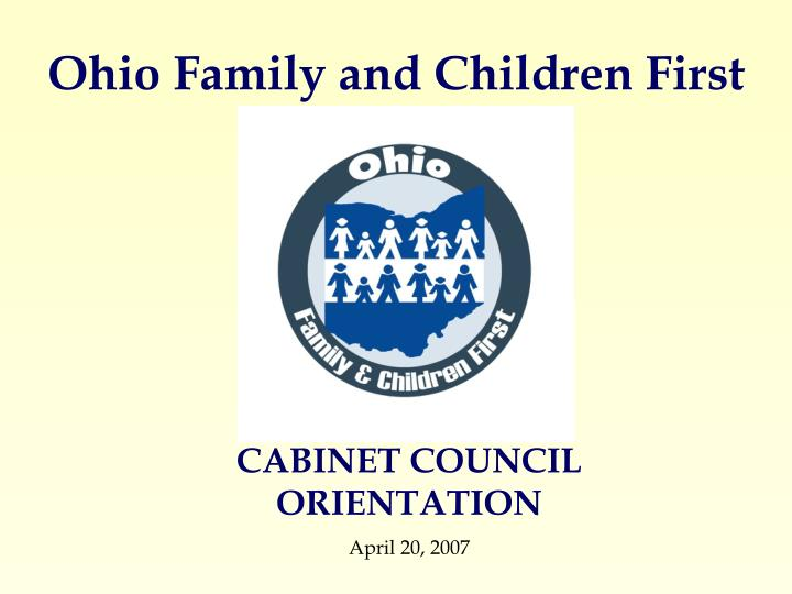 ohio family and children first n.