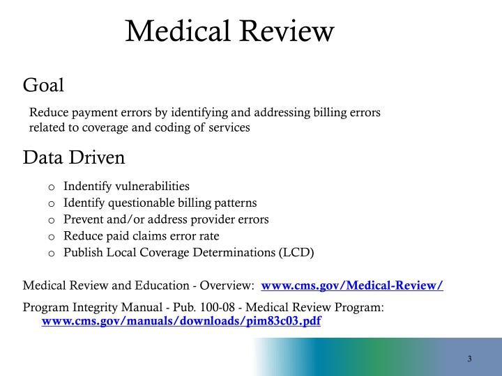 Medical Review