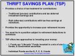 thrift savings plan tsp