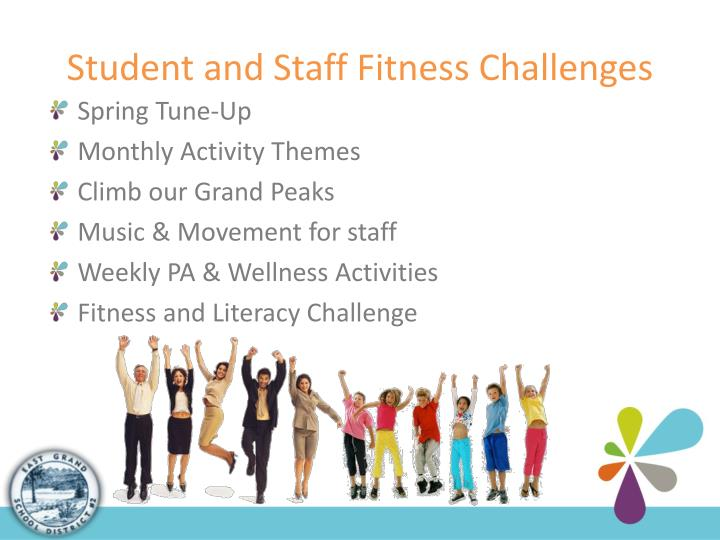 Student and Staff Fitness Challenges