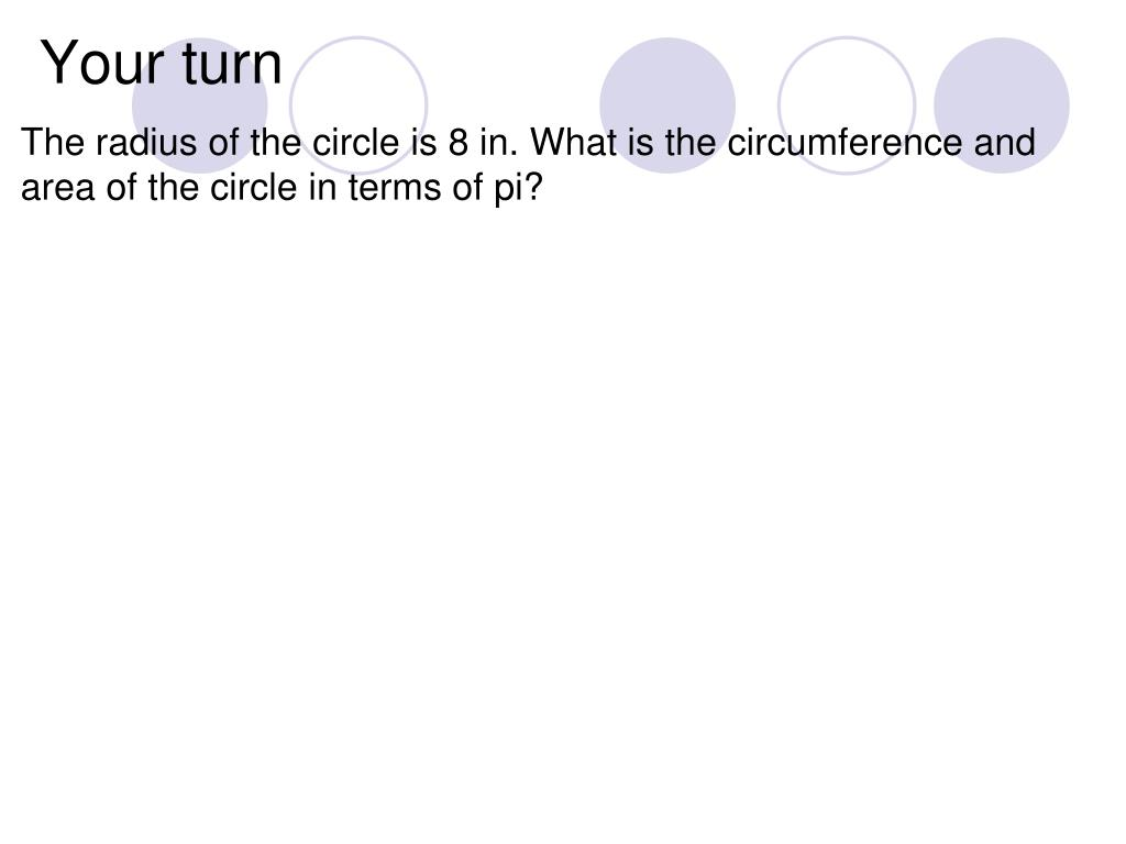 PPT - Perimeter, Circumference, and Area PowerPoint