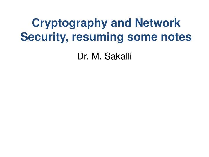 Security in computing notes powerpoint presentation   databases.