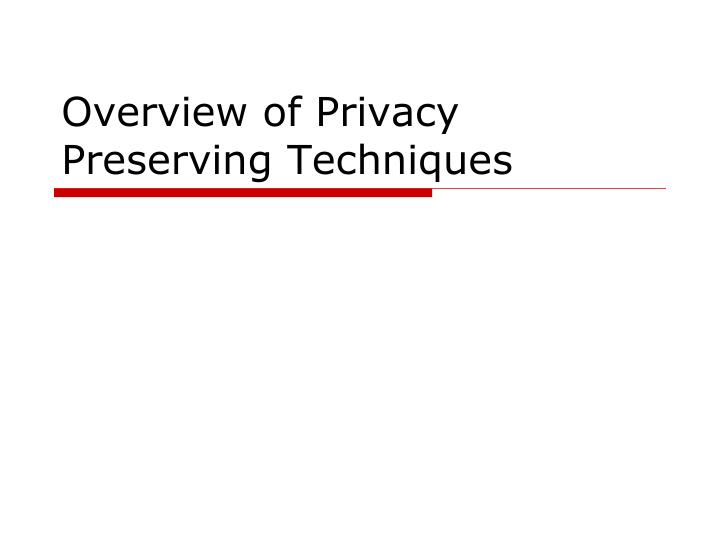 an overview of privacy The overview of the privacy act of 1974, 2015 edition is a comprehensive treatise of existing privacy act case law.