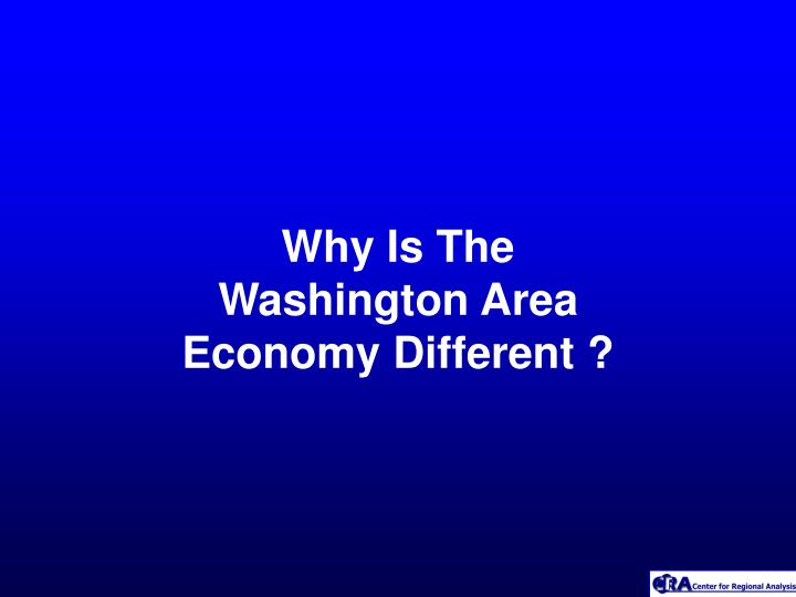 Why Is The Washington Area