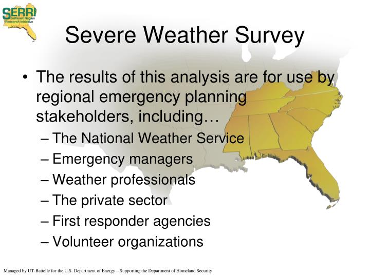 Severe weather survey1
