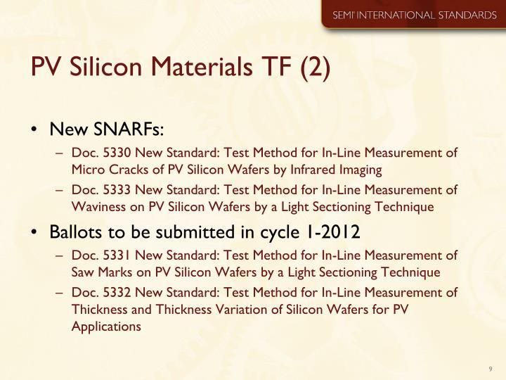 PV Silicon Materials TF (2)