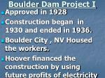 boulder dam project i