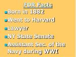 fdr facts
