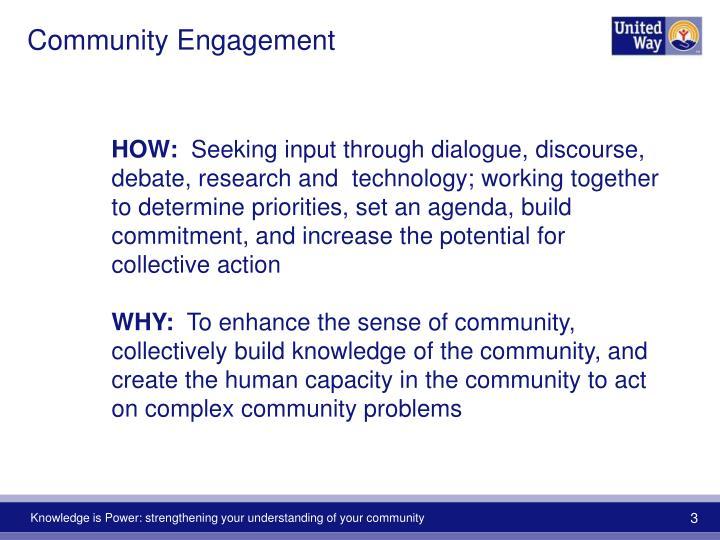Community engagement1