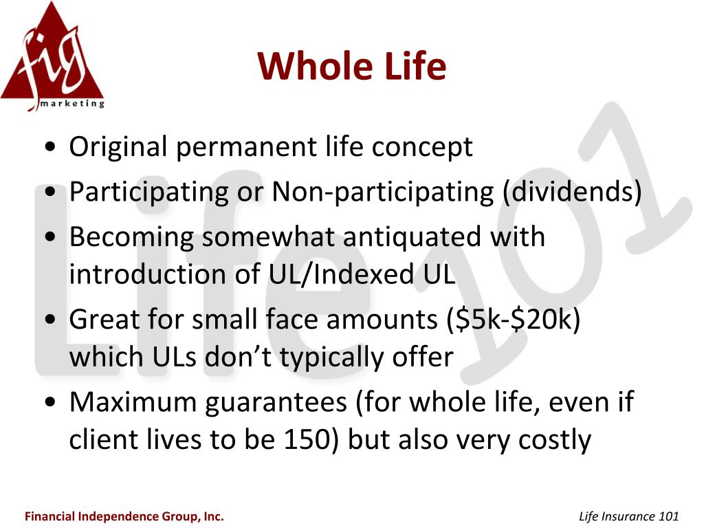 PPT - Life Insurance 101 PowerPoint Presentation, free ...
