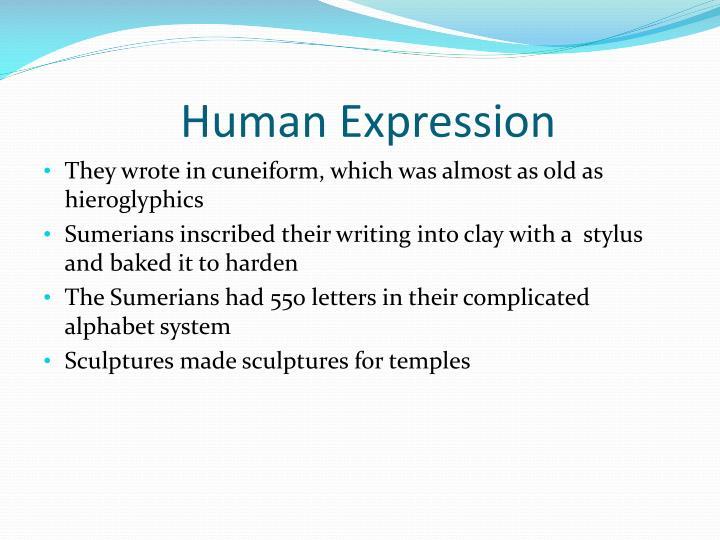 Human Expression