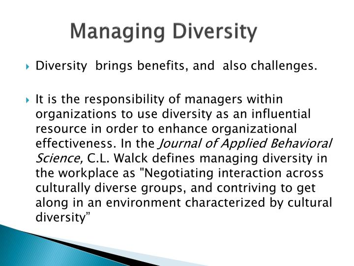 cultural diversity in the workplace essay The importance of cultural diversity in the workplace has been, for the most part, accepted in international business the world day for assimilation another challenge faced by culturally diverse organizational environments is assimilation according to the journal cultural diversity in the.