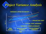 project variance analysis