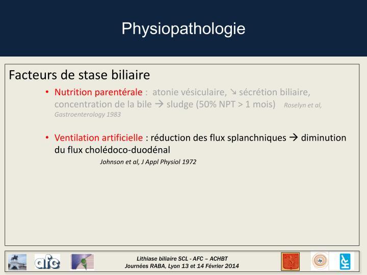 Physiopathologie