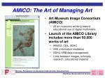 amico the art of managing art