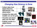 changing how science is done