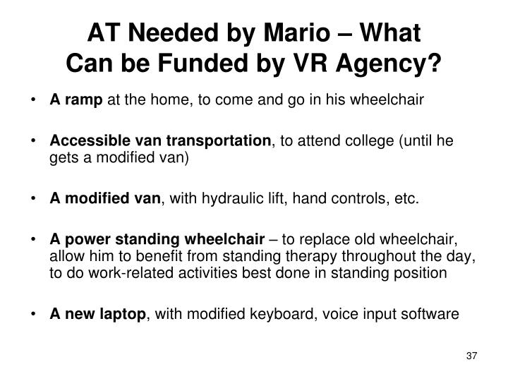 AT Needed by Mario – What