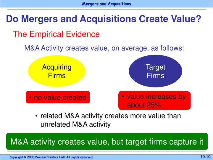 •value increases by