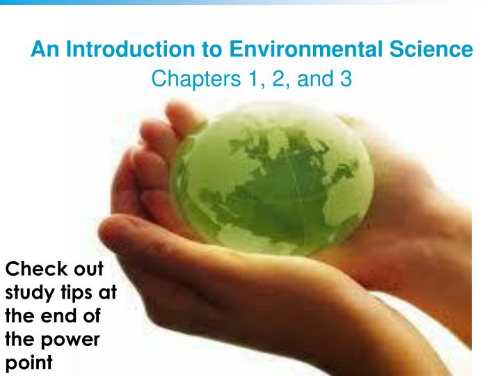 Introduction to environmental science.