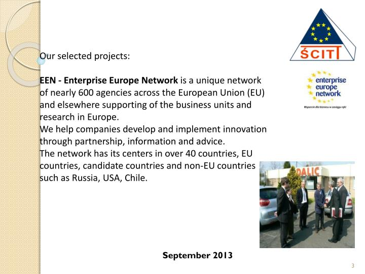 Our selected projects: